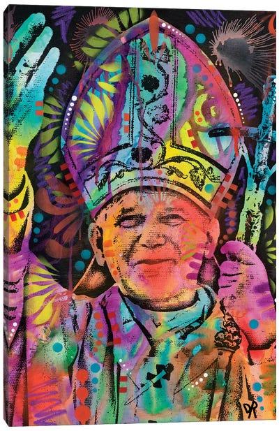Pope Canvas Art Print