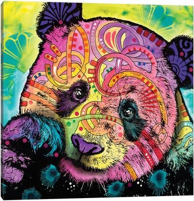 Psychedelic Panda Canvas Art Print