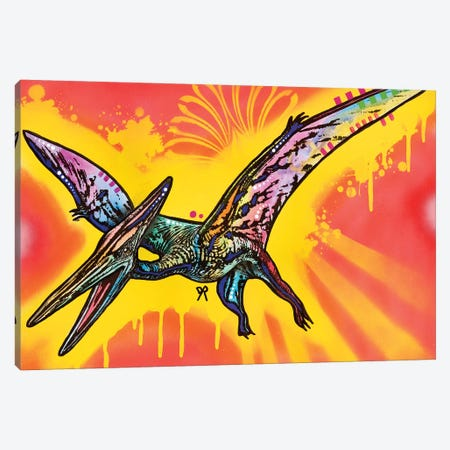 Pterodactyl Canvas Print #DRO495} by Dean Russo Canvas Art Print