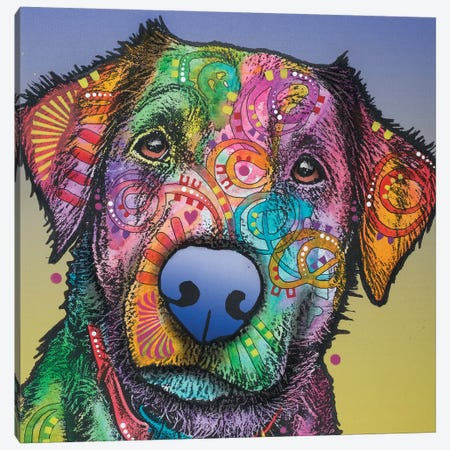 Pullo Canvas Print #DRO498} by Dean Russo Canvas Artwork