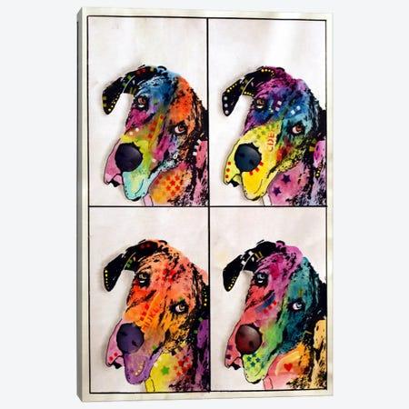 4 Danes Canvas Print #DRO49} by Dean Russo Canvas Artwork