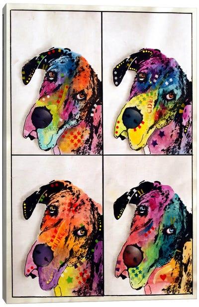 4 Danes Canvas Art Print