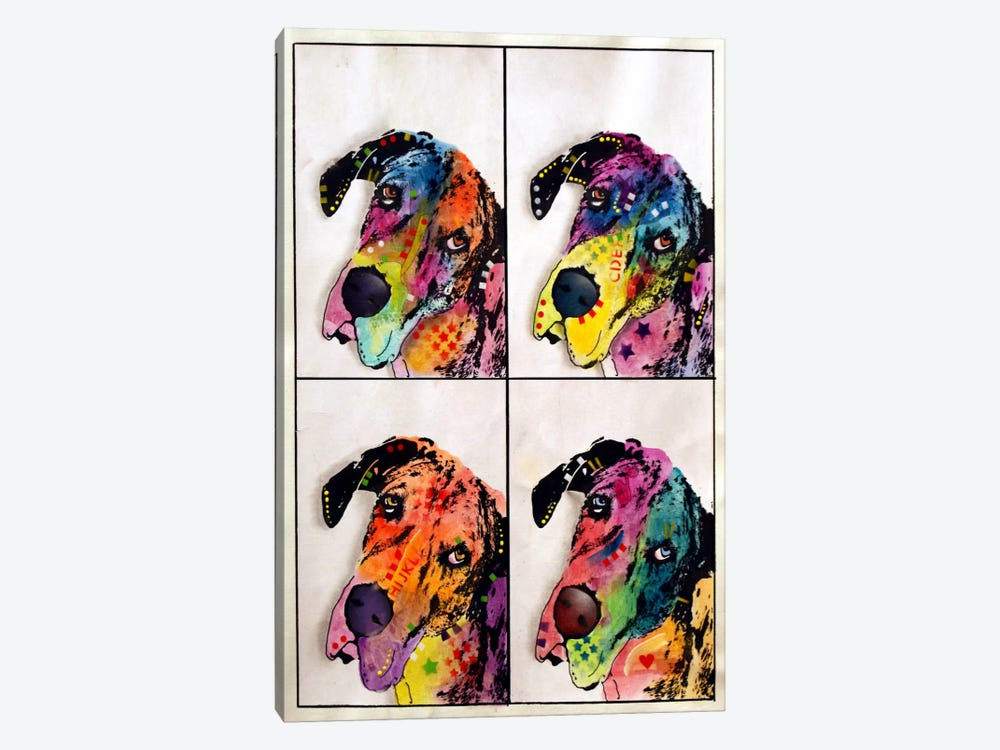 4 Danes by Dean Russo 1-piece Canvas Art