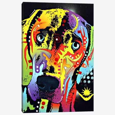 Weimaraner Canvas Print #DRO4} by Dean Russo Canvas Wall Art