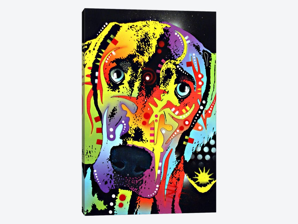 Weimaraner by Dean Russo 1-piece Canvas Artwork