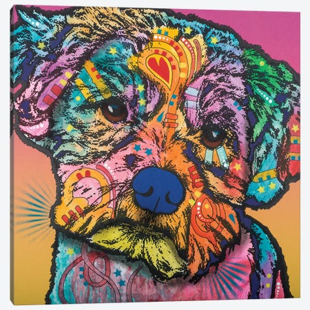 Quincy Canvas Print #DRO500} by Dean Russo Canvas Wall Art