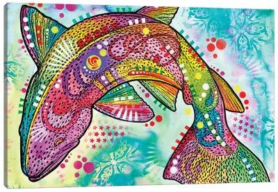 Rainbow Trout Canvas Art Print