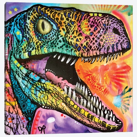 Raptor Canvas Print #DRO504} by Dean Russo Art Print