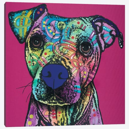 Rosa Canvas Print #DRO516} by Dean Russo Canvas Art