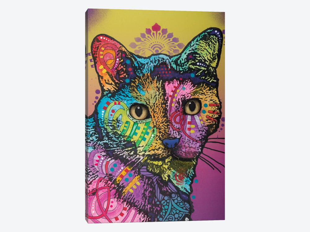 Sadie The Cat by Dean Russo 1-piece Canvas Wall Art