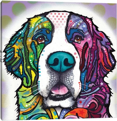 Saint Bernard Canvas Art Print