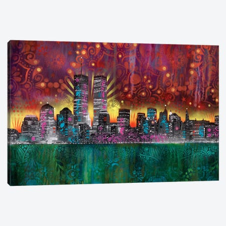 Skyline Canvas Print #DRO524} by Dean Russo Canvas Art Print