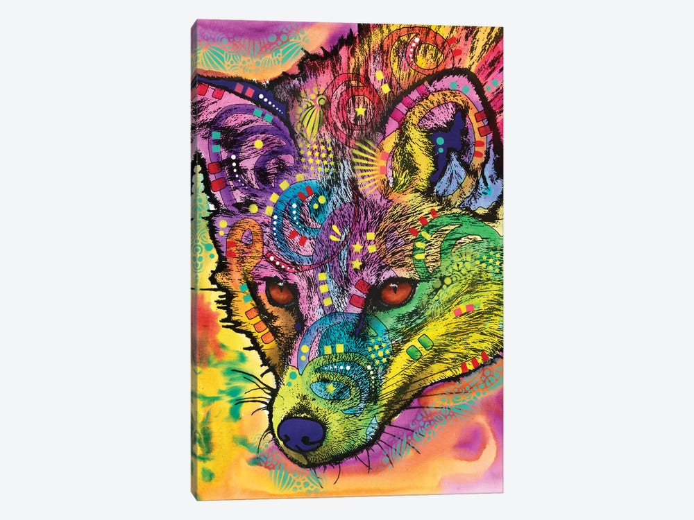 Sly As A Fox by Dean Russo 1-piece Canvas Artwork