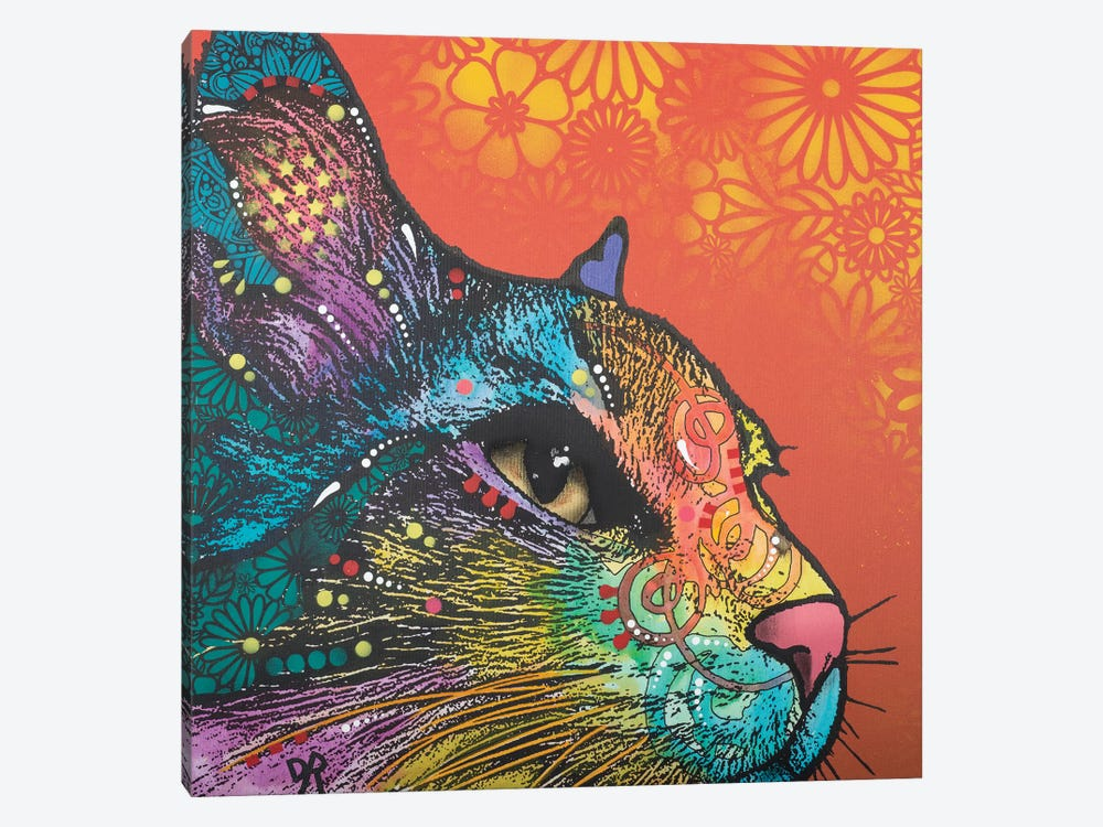 Smudge by Dean Russo 1-piece Canvas Print