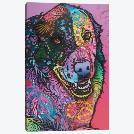 Splatter Canvas Print #DRO527} by Dean Russo Canvas Art Print