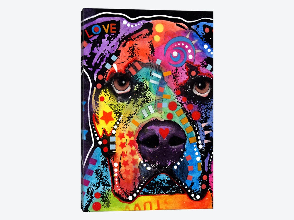 American Bulldog II by Dean Russo 1-piece Canvas Art
