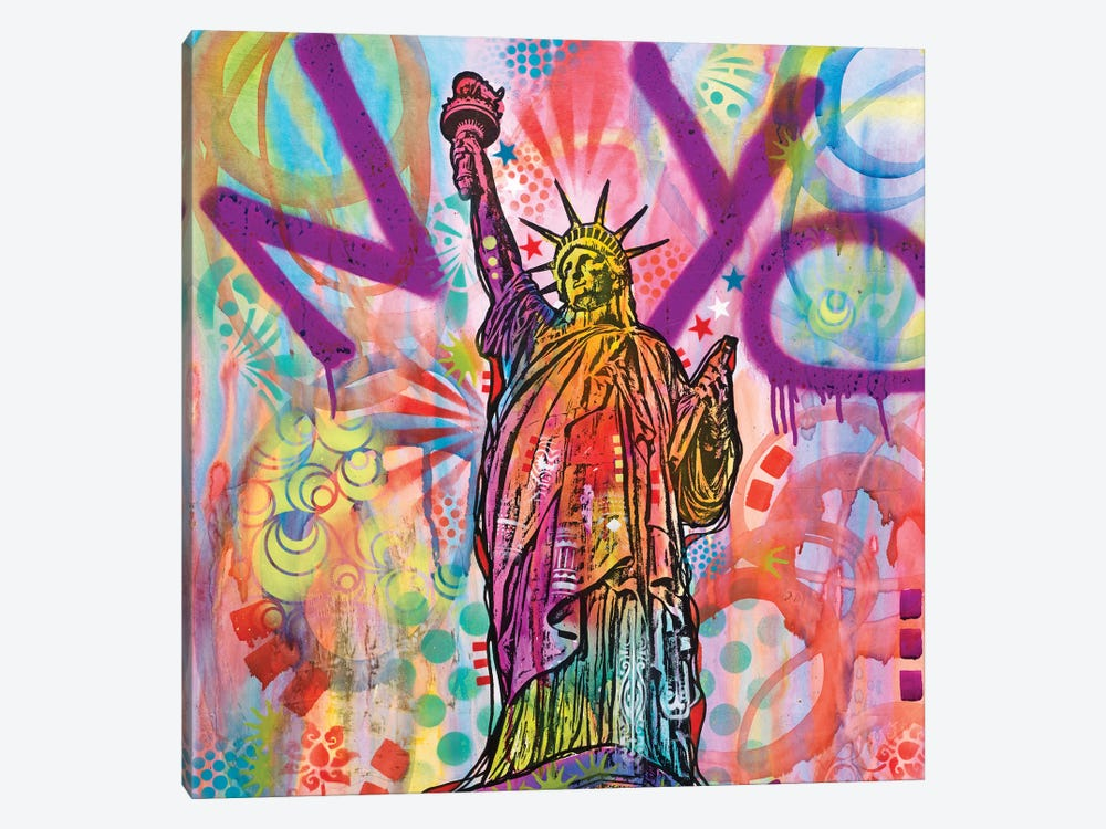 Statue Of Liberty by Dean Russo 1-piece Canvas Art Print