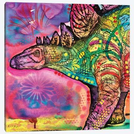 Stegosaurus Canvas Print #DRO532} by Dean Russo Canvas Print