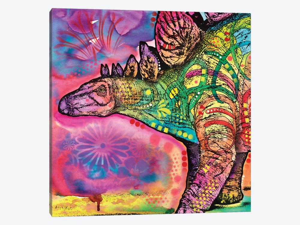 Stegosaurus by Dean Russo 1-piece Canvas Art
