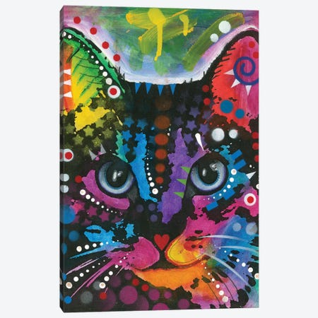 Tabby I Canvas Print #DRO534} by Dean Russo Canvas Artwork
