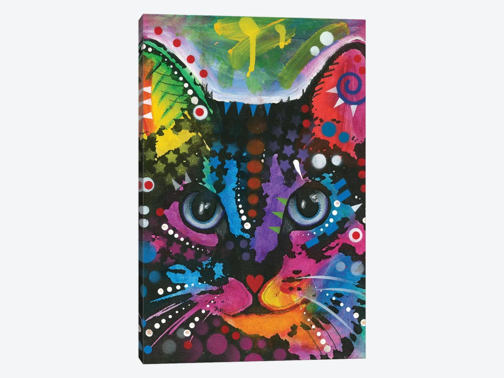 Tabby I by Dean Russo 1-piece Canvas Wall Art
