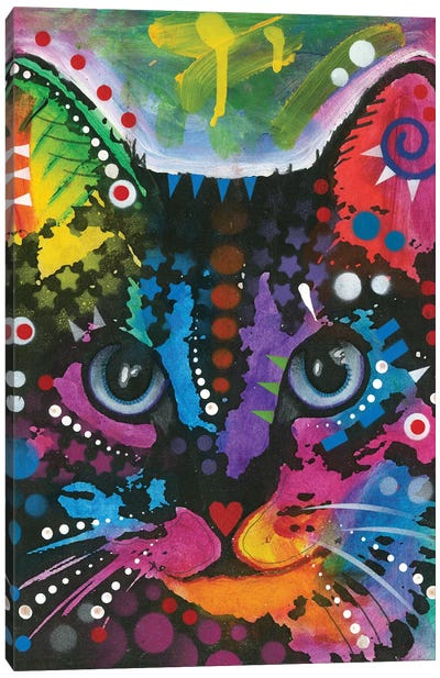 Tabby I Canvas Art Print