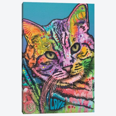 Tigger Canvas Print #DRO544} by Dean Russo Canvas Print