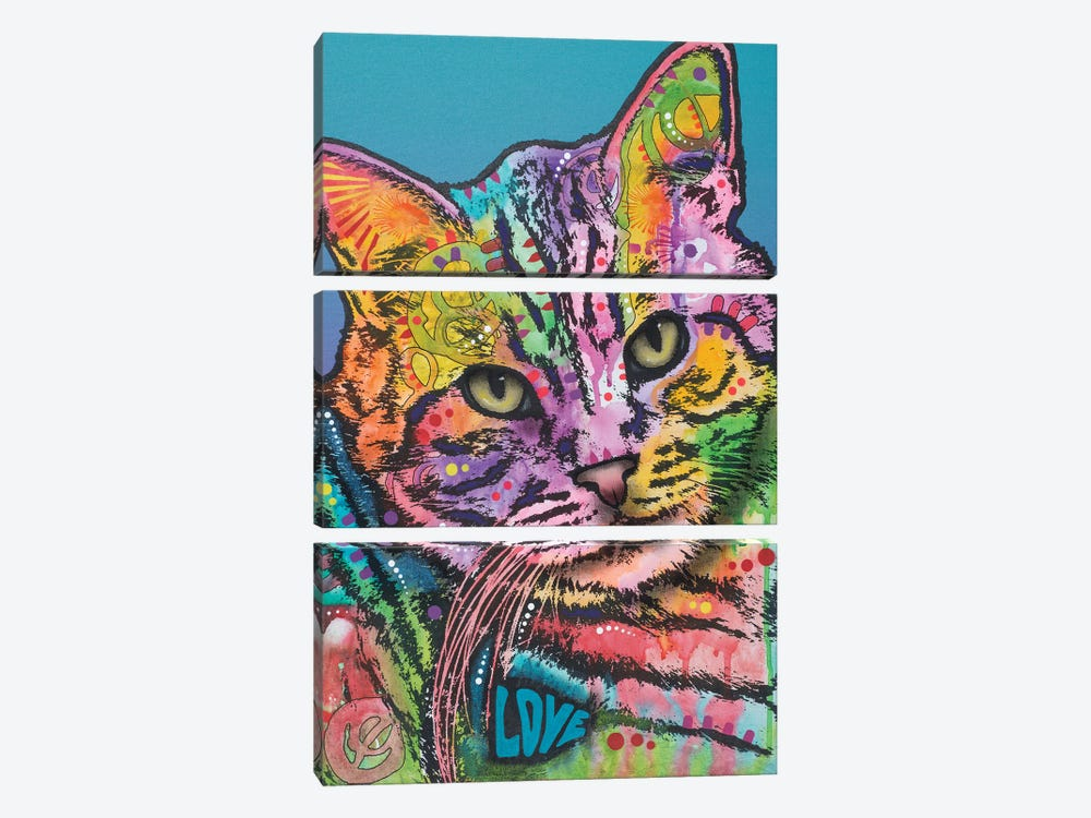 Tigger by Dean Russo 3-piece Canvas Print