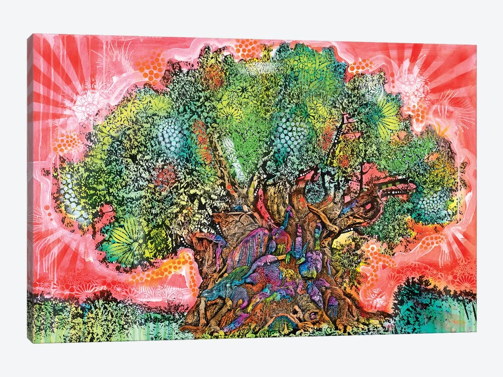 Tree Of Life by Dean Russo 1-piece Canvas Wall Art
