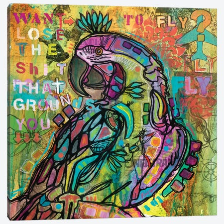 Want To Fly? Canvas Print #DRO554} by Dean Russo Canvas Art