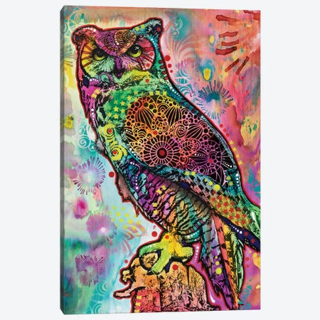 Wise Owl Canvas Print #DRO556} by Dean Russo Canvas Art