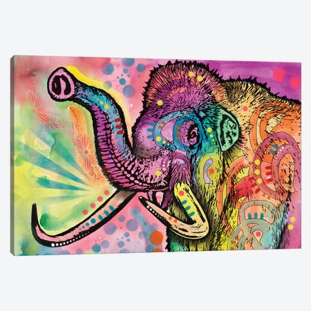 Woolly Mammoth Canvas Print #DRO557} by Dean Russo Canvas Artwork