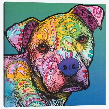 Zeus Love Canvas Print #DRO561} by Dean Russo Canvas Wall Art