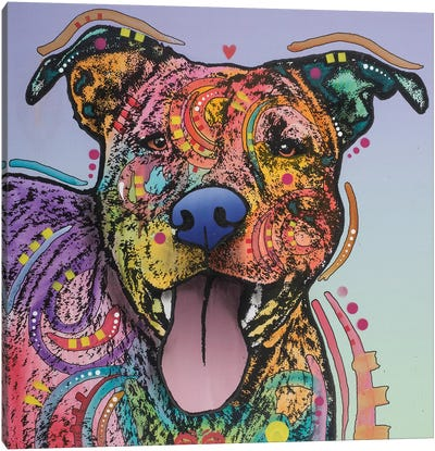 Zoey Canvas Art Print