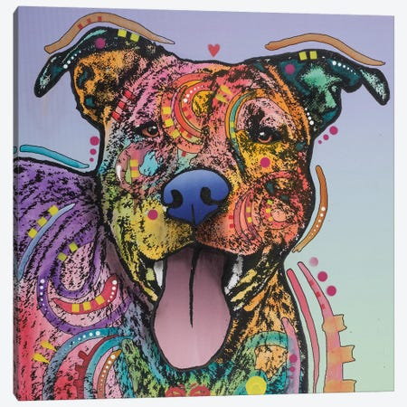Zoey Canvas Print #DRO562} by Dean Russo Canvas Art