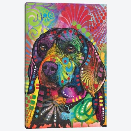 Beagle Eagle Canvas Print #DRO566} by Dean Russo Canvas Art Print