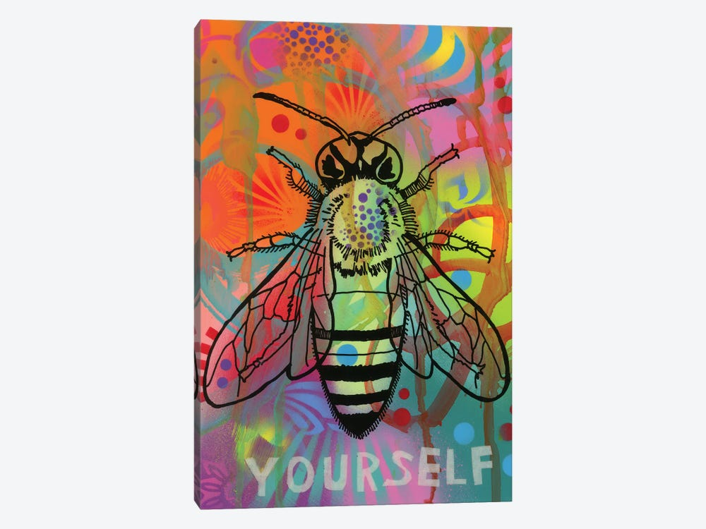 Bee Yourself by Dean Russo 1-piece Canvas Art
