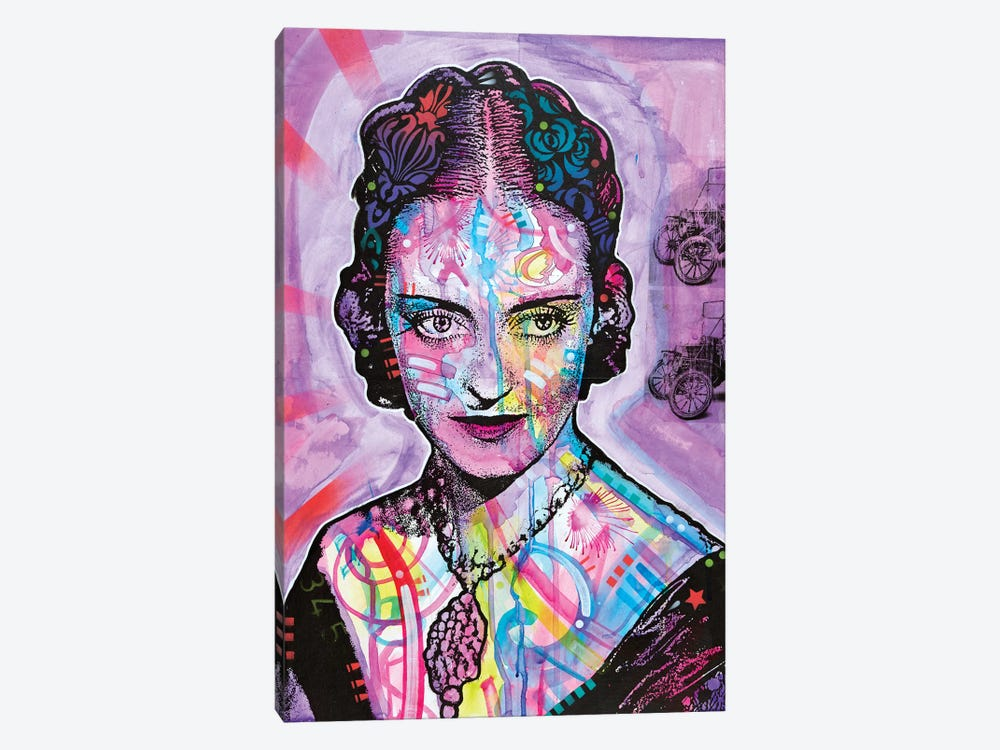 Bette Davis by Dean Russo 1-piece Art Print