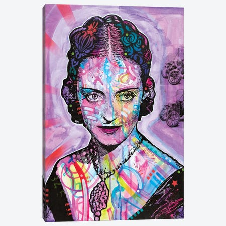 Bette Davis Canvas Print #DRO568} by Dean Russo Canvas Artwork