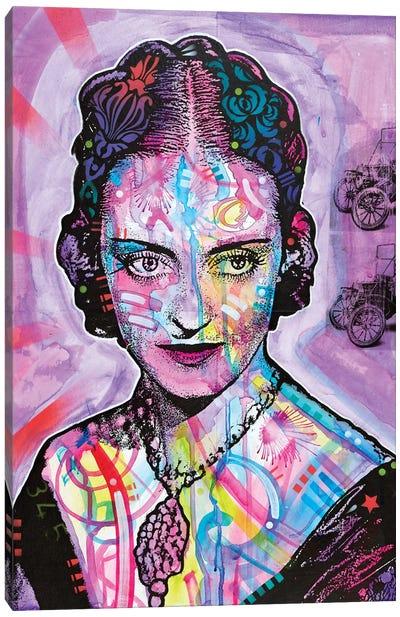 Bette Davis Canvas Art Print