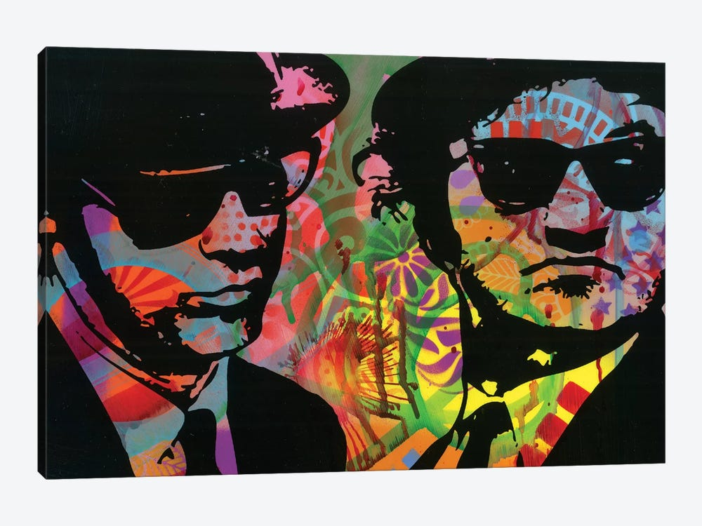 Blues Brothers by Dean Russo 1-piece Canvas Art