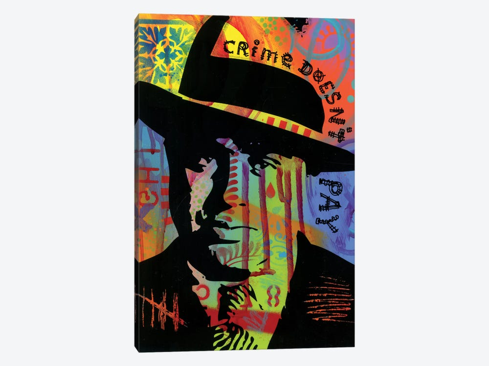 Crime Doesn't Pay by Dean Russo 1-piece Canvas Art