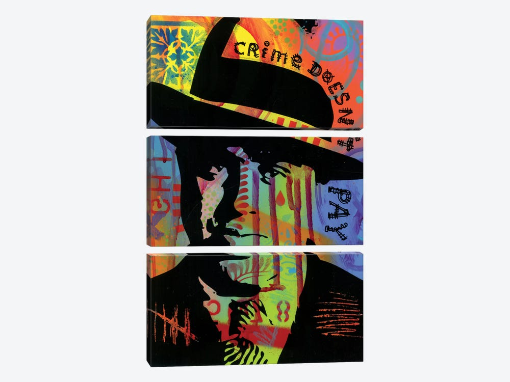 Crime Doesn't Pay by Dean Russo 3-piece Canvas Artwork