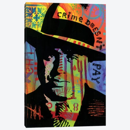 Crime Doesn't Pay Canvas Print #DRO572} by Dean Russo Canvas Print