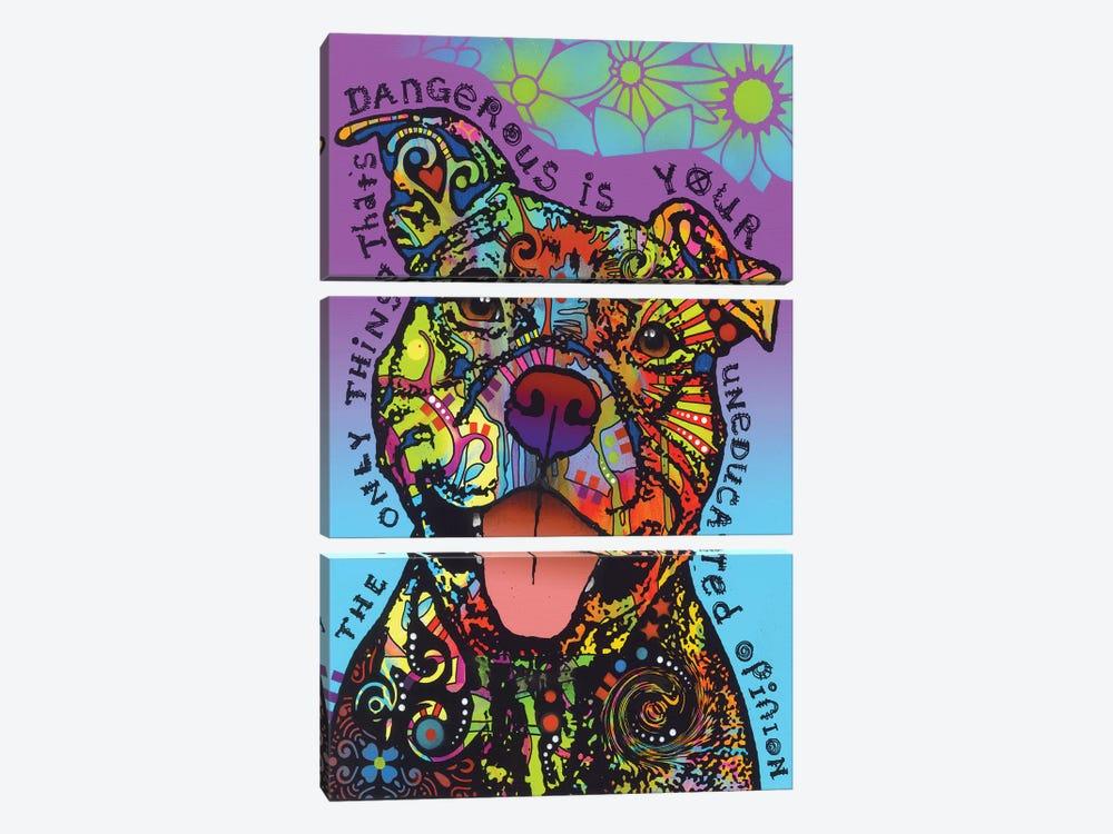 Dangerous by Dean Russo 3-piece Canvas Art Print
