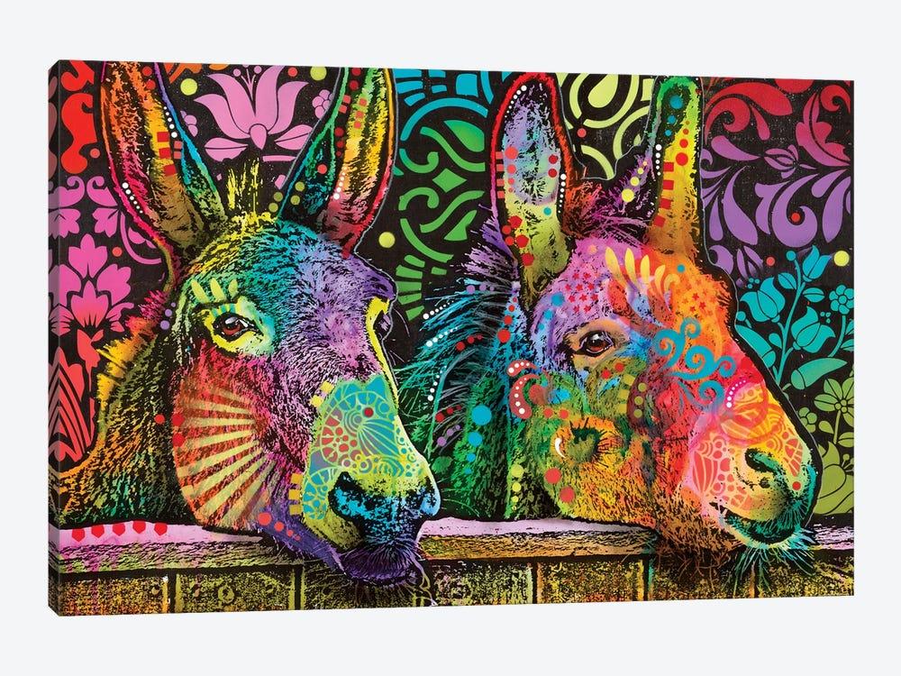 Donkeys by Dean Russo 1-piece Canvas Art