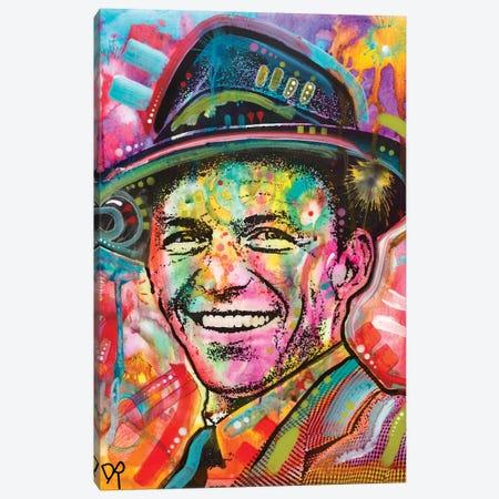 Frank Sinatra I Canvas Print #DRO579} by Dean Russo Canvas Art Print