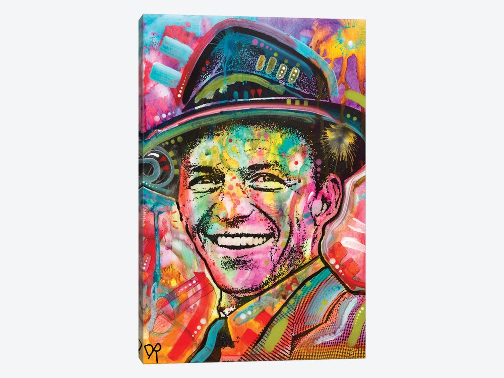 Frank Sinatra I by Dean Russo 1-piece Art Print