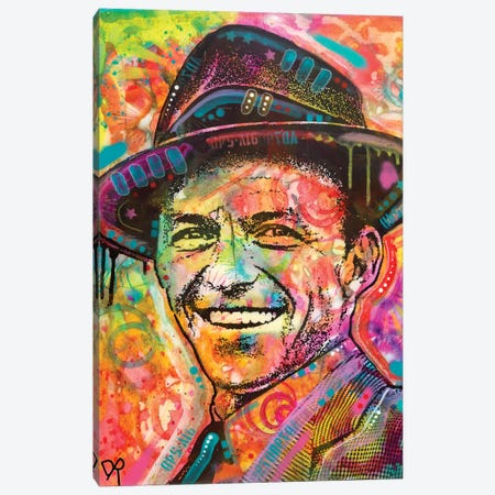 Frank Sinatra II Canvas Print #DRO580} by Dean Russo Canvas Wall Art