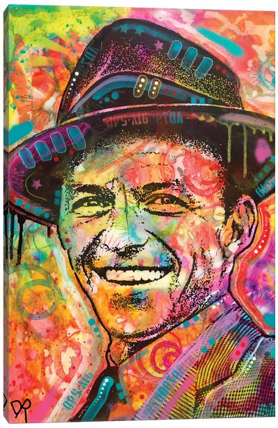 Frank Sinatra II Canvas Art Print